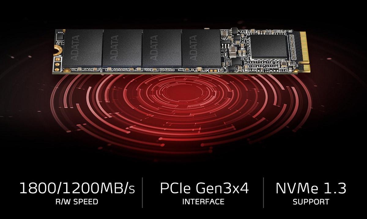 Toc do doc ghi cuc nhanh cua O cung SSD Adata XPG SX6000 128GB 256gb 512 gb M.2 NVMe