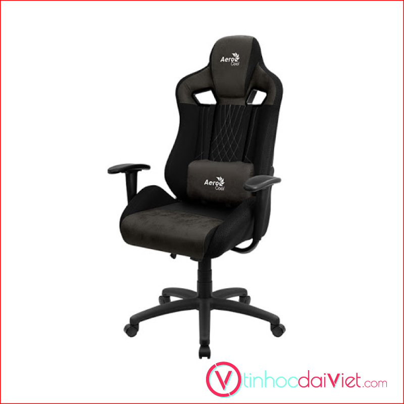 Ghe Gaming AeroCool AeroSuede Chair Earl Iron Black 3