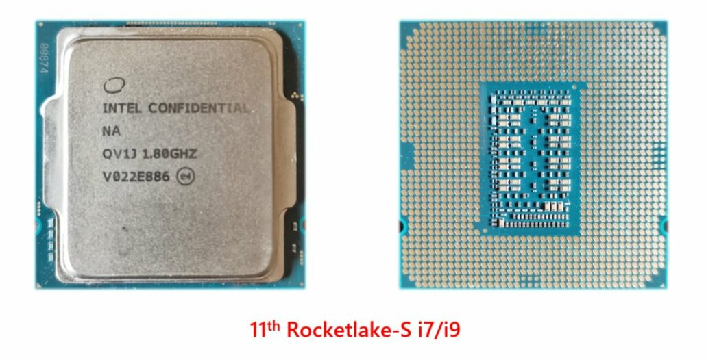 Intel Rocket Lake S Desktop CPU 11th Gen Core i9 Core i7 Processors