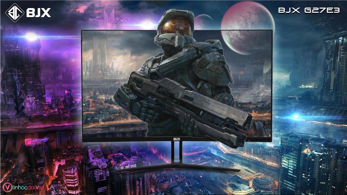 Man Hinh Cong BJX G27E3 Gaming 27 inch 75Hz Full HD IPS Led RGB 6