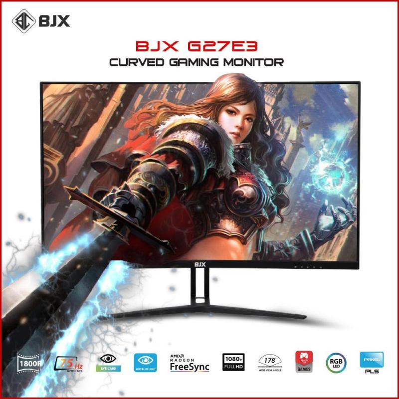 Man Hinh Cong BJX G27E3 Gaming 27 inch 75Hz Full HD IPS Led RGB