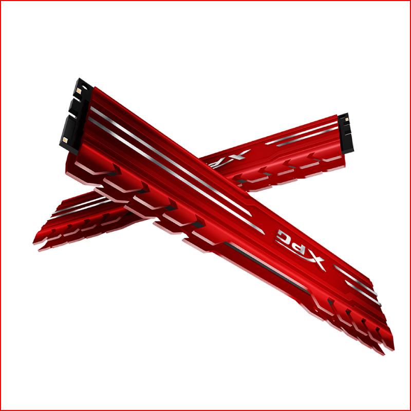 RAM Desktop Adata DDR4 XPG GAMMIX D10 8GB 3000 RED 4
