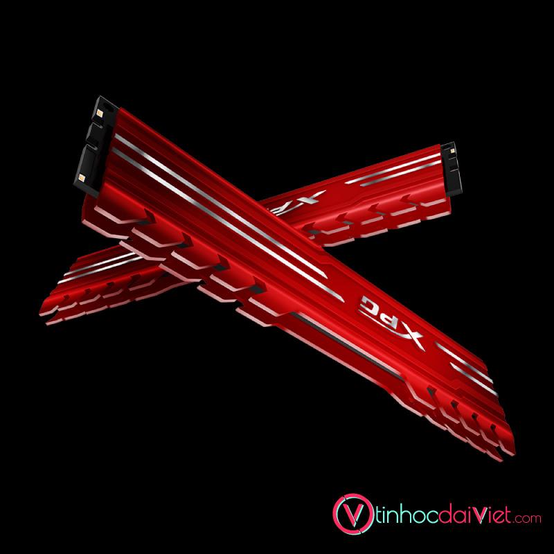 RAM Desktop Adata DDR4 XPG GAMMIX D10 8GB 3000 RED 6