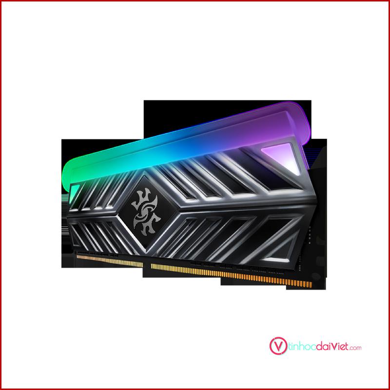 RAM Desktop Adata DDR4 XPG GAMMIX D41 X TUF 8GB 3200 BLACK RGB 2