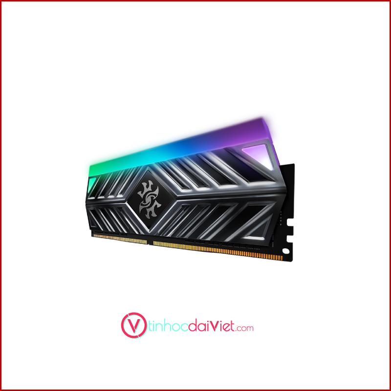 RAM Desktop Adata DDR4 XPG GAMMIX D41 X TUF 8GB 3200 BLACK RGB 3