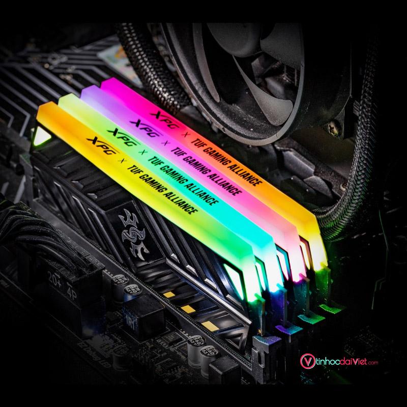 RAM PC ADATA DDR4 XPG SPECTRIX D41 X TUF 8GB 3200 BLACK RGB 2