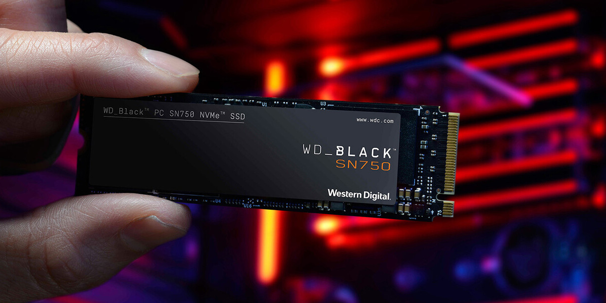 SSD WD Black SN 750 250GB 500GB 1TB 5
