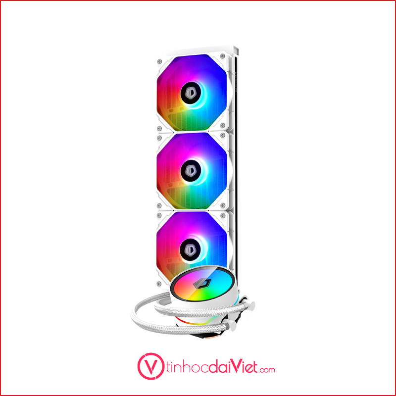 Tan nhiet nuoc ID Cooling ZoommFlow 360 XT Snow 1