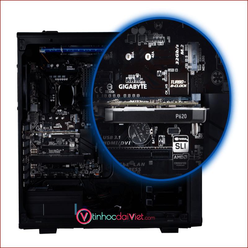 VGA Card Leadtek NVidia Quadro P620 P2200 P10001