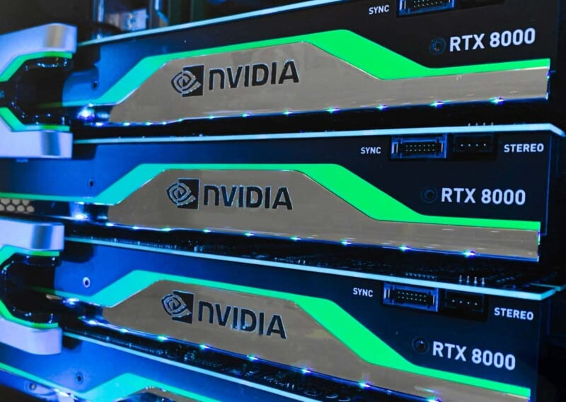 VGA Card Leadtek NVidia Quadro RTX 8000 48GB GDDR6
