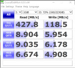 Box o cung di dong M2 Sata sang Usb 3.0 Test voi SSD Western Digital 240gb green