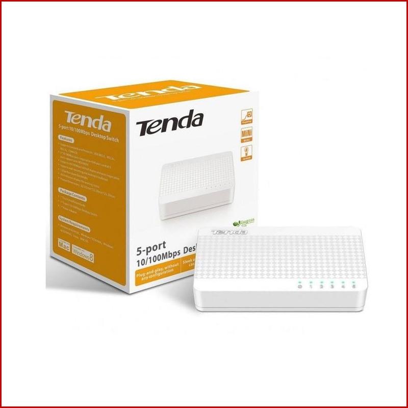 Switch Tenda S105 5 Port 100 Mbps