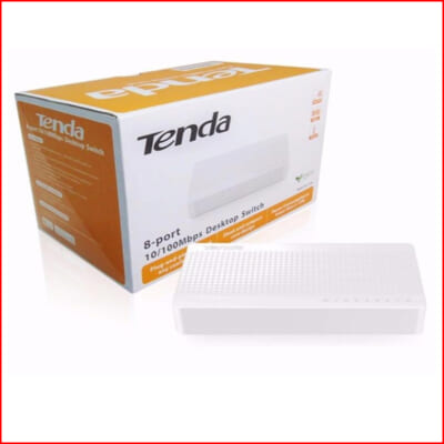 Switch Tenda S108 8 Port 100 Mbps 0