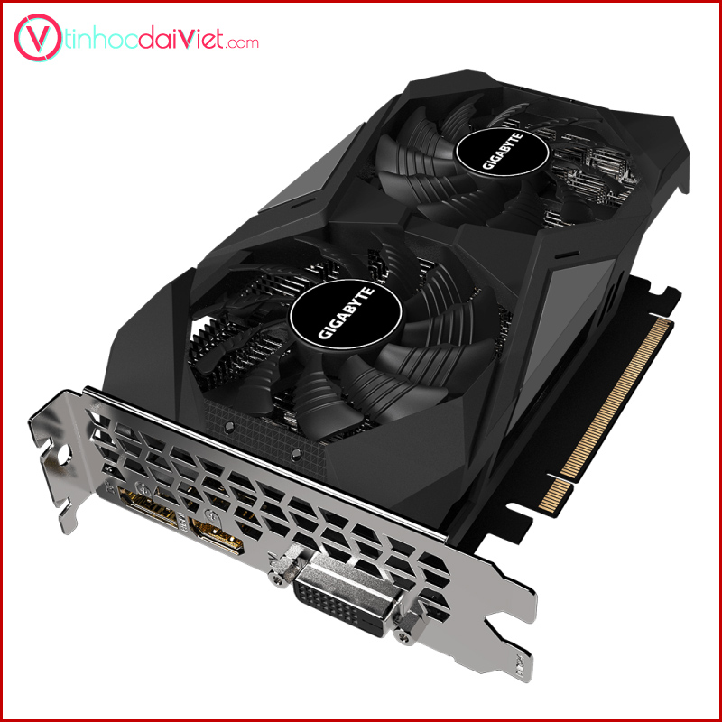 VGA Gigabyte GTX 1650 WINDFORCE D 6 4G 3