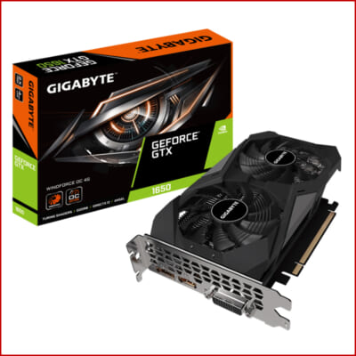 VGA Gigabyte GTX 1650 WINDFORCE D 6 4G