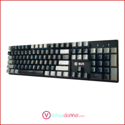 Ban Phim Co Gaming BJX KM9 Full Size Red Switch Blue Switch Mau Den