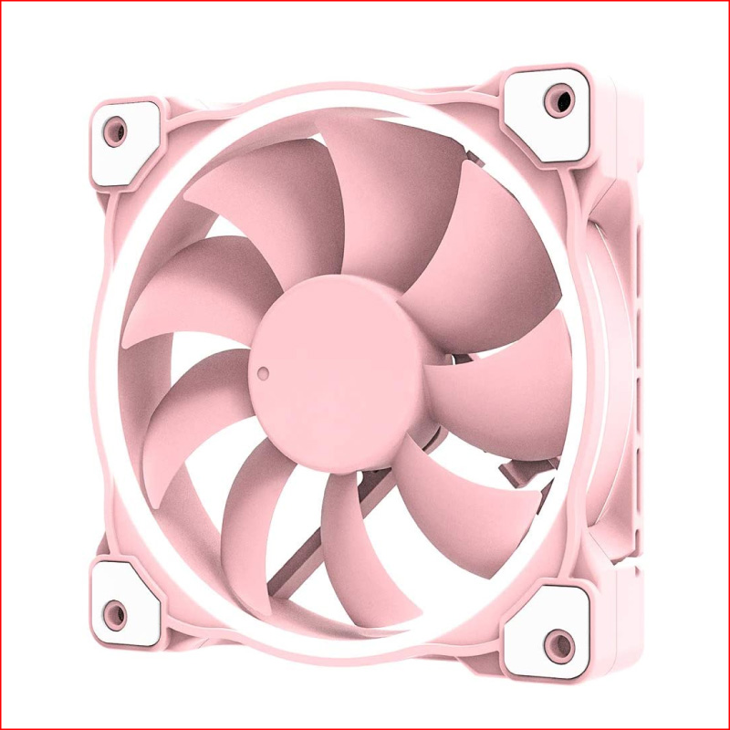Fan Case ID Cooling ZF 12025 Pastel Pink 1