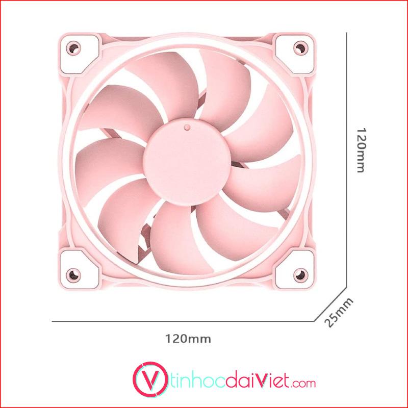 Fan Case ID Cooling ZF 12025 Pastel Pink 2
