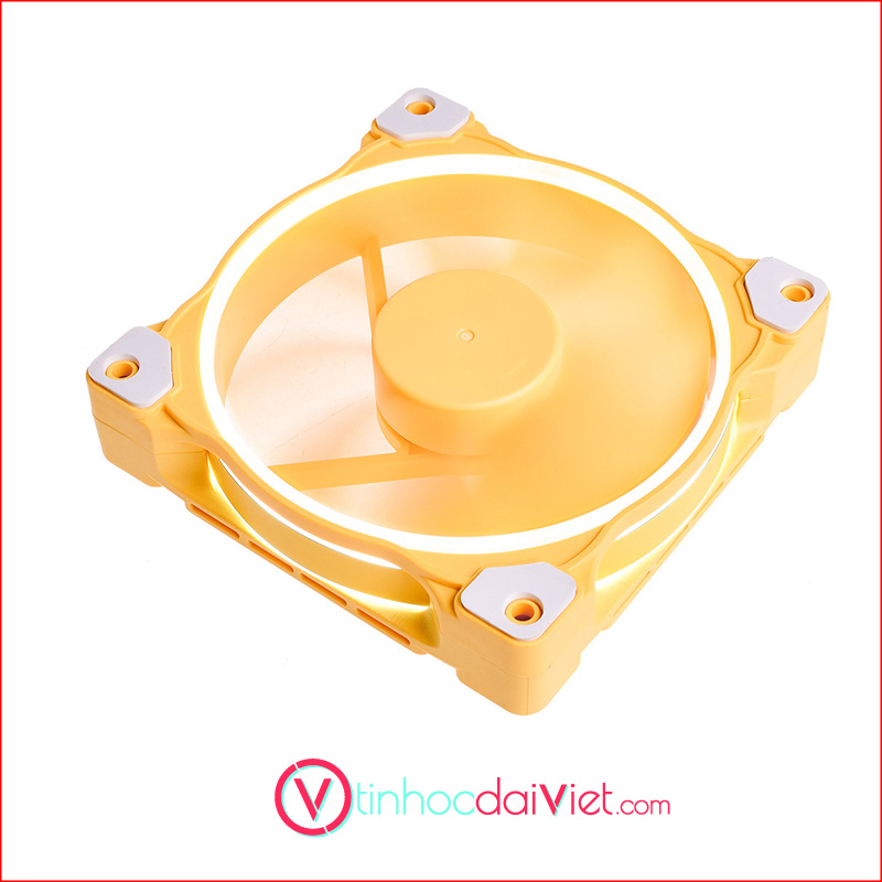 Fan Case ID Cooling ZF 12025 Pastel Yellow 2