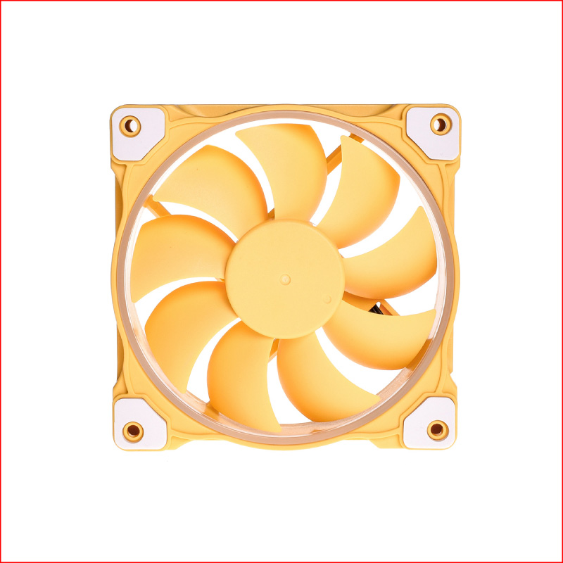 Fan Case ID Cooling ZF 12025 Pastel Yellow
