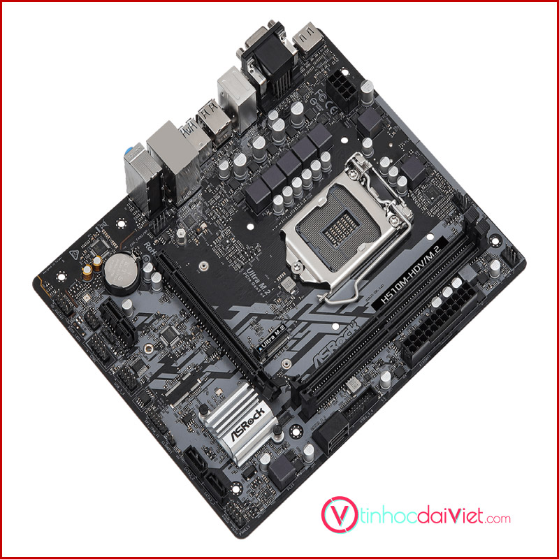 Mainboard Asrock H510M HDVM.2 Socket LGA 1200 Intel Gen 11 2