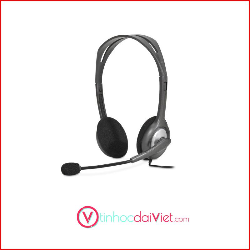 Tai Nghe Logitech Stereo Headset H110 3