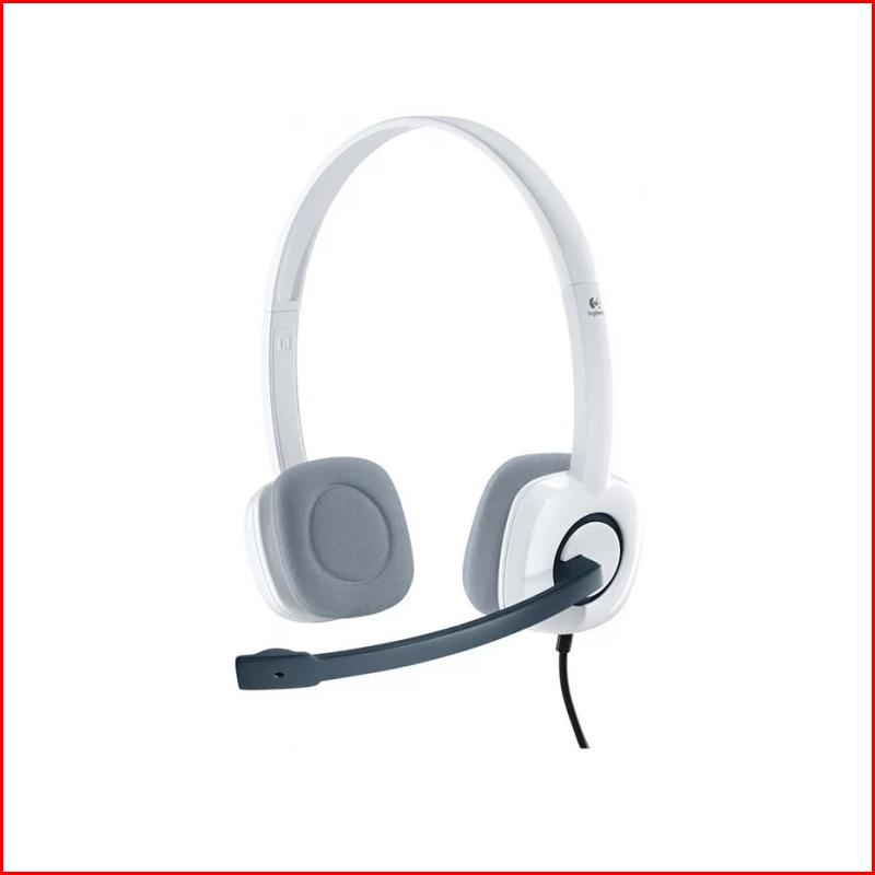 Tai Nghe Logitech Stereo Headset H150 WhiteBLue 1