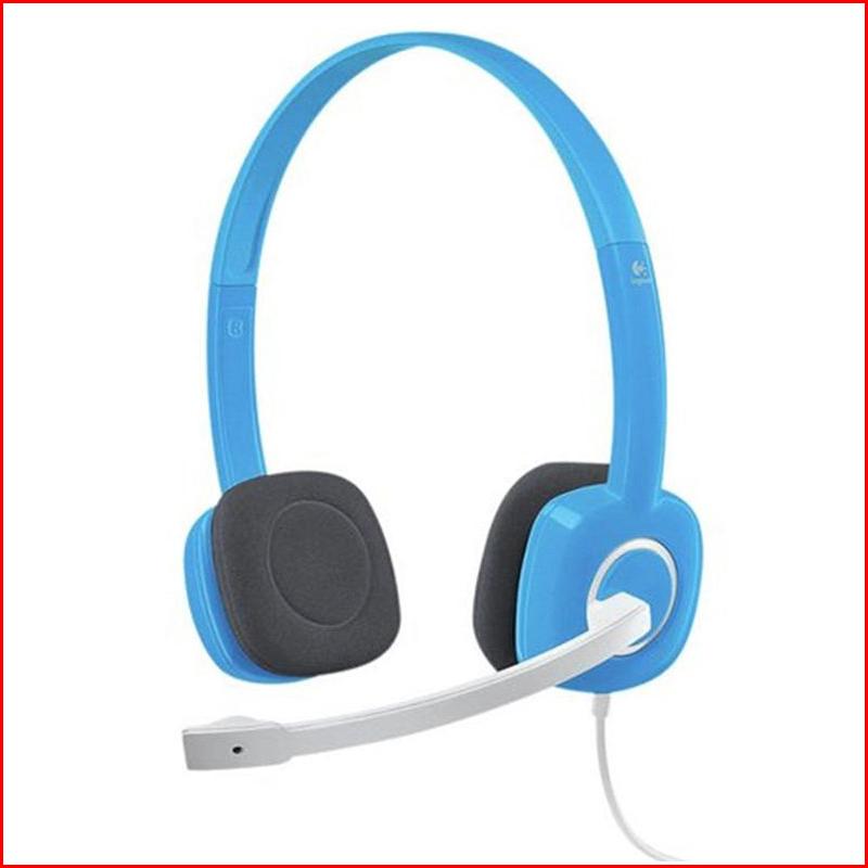 Tai Nghe Logitech Stereo Headset H150 WhiteBLue