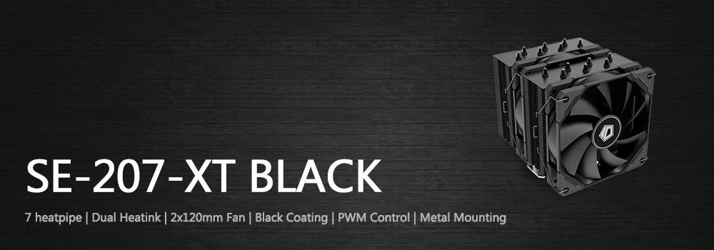 Tan Nhiet Khi CPU ID Cooling SE 207 XT Black
