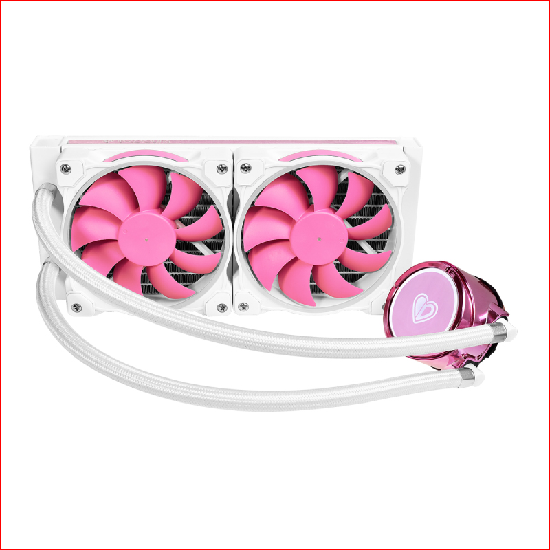 Tan Nhiet Nuoc AIO ID Cooling PinkFlow 240 1