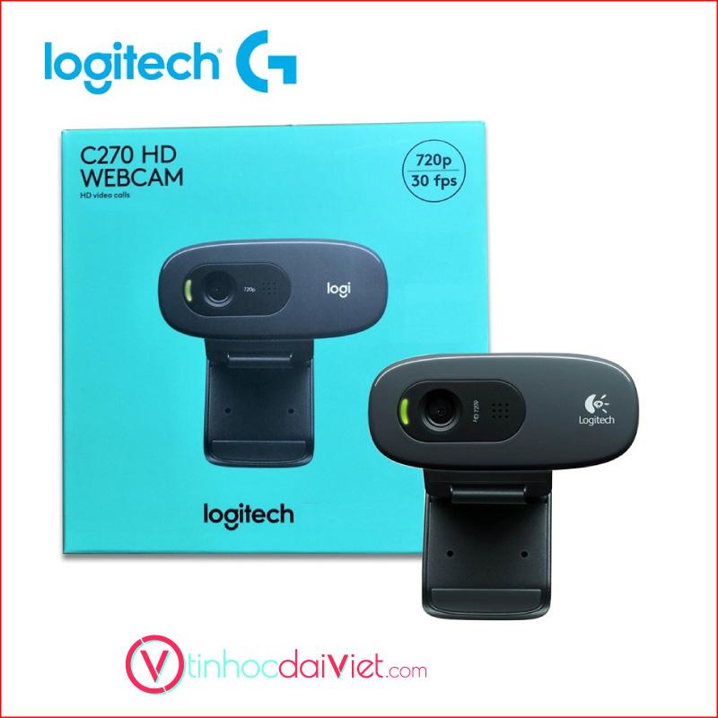 Webcam Logitech C270 1280 x 720pixels 2