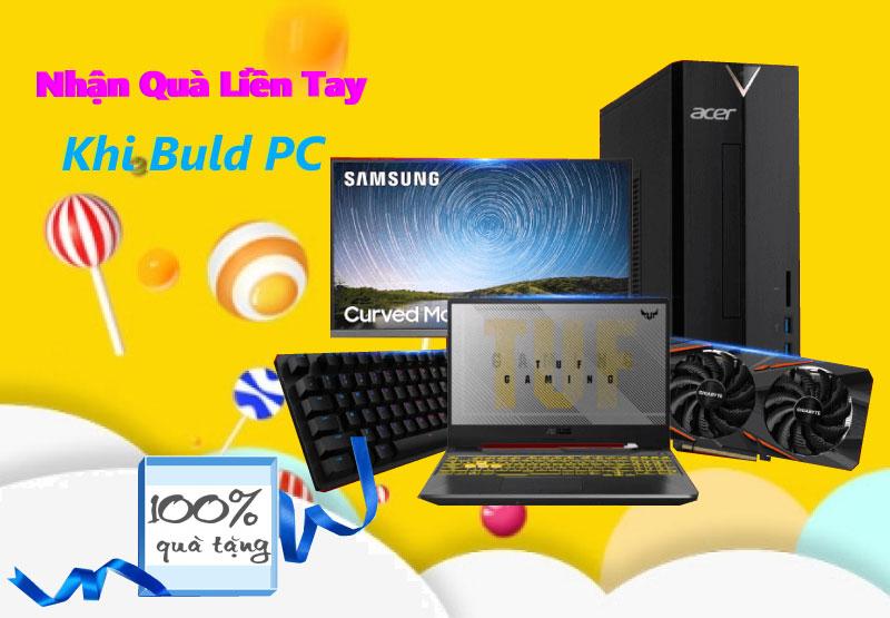 Build PC Nhận Quà Liền Tay - Tin Học Đại Việt