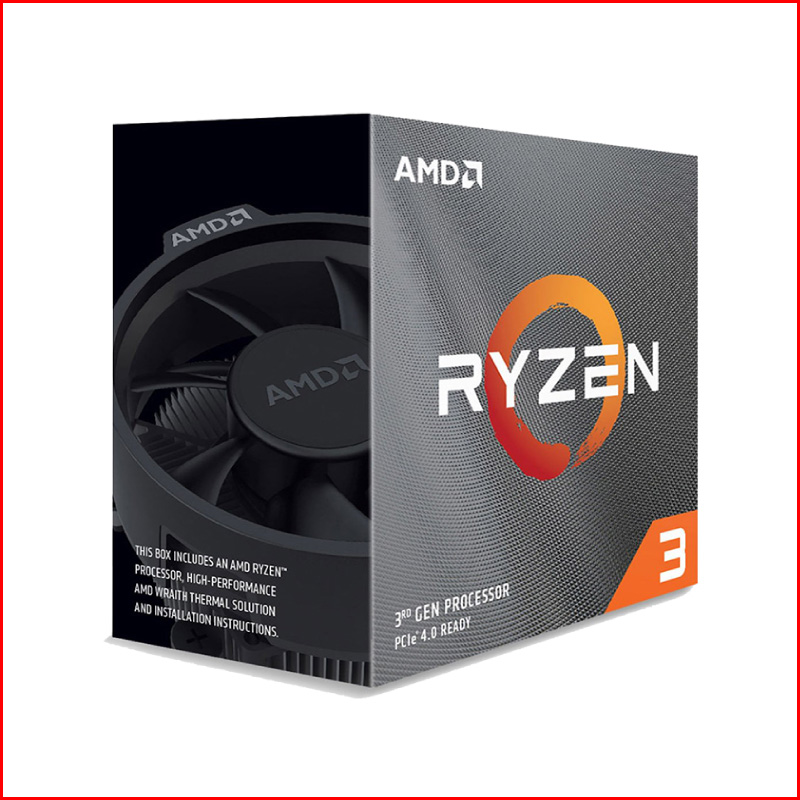 CPU AMD Ryzen 3 Pro 4350G Renoir 3.8 GHz up to 4.0 GHz 4 core 8 Thread Socket AM4