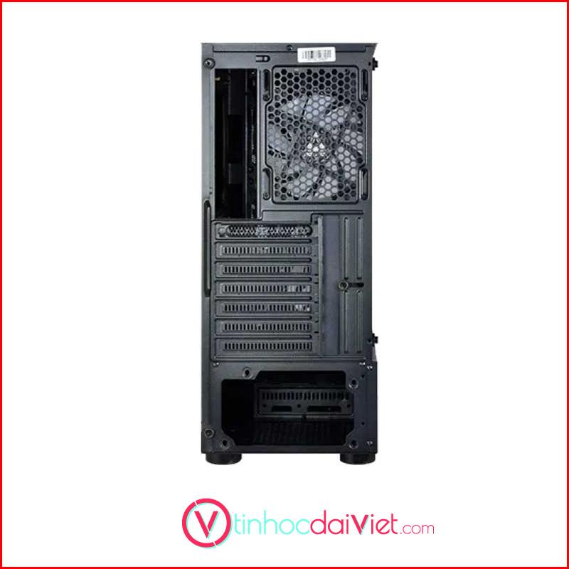 Case May Tinh Montech X1 Black White Tang 4 Fan RGB 2