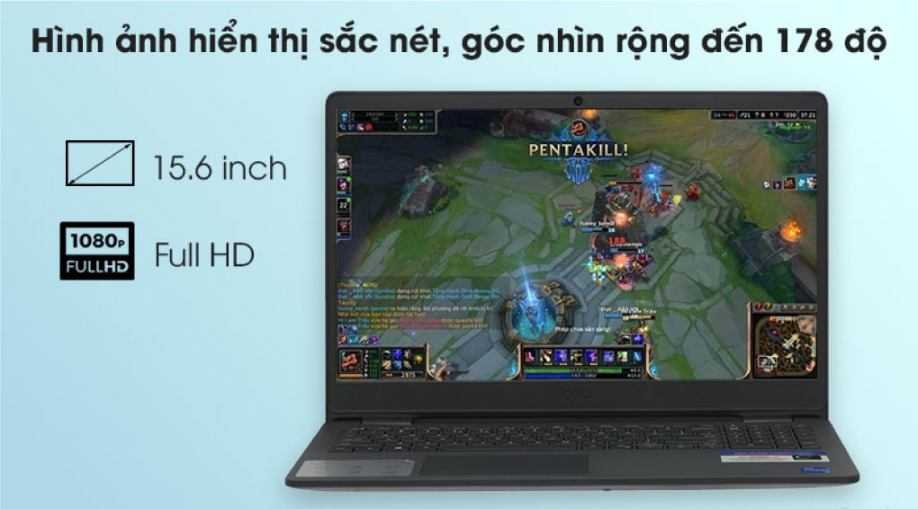Laptop Dell Inspiron 3501 Chat Luong Khung Hinh Cao Tren Man Hinh Lon 16.5 Inch