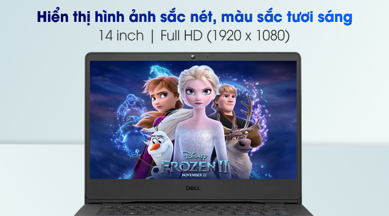 Laptop Dell Vostro 3400 Hien Thi Hinh Anh Sac Net