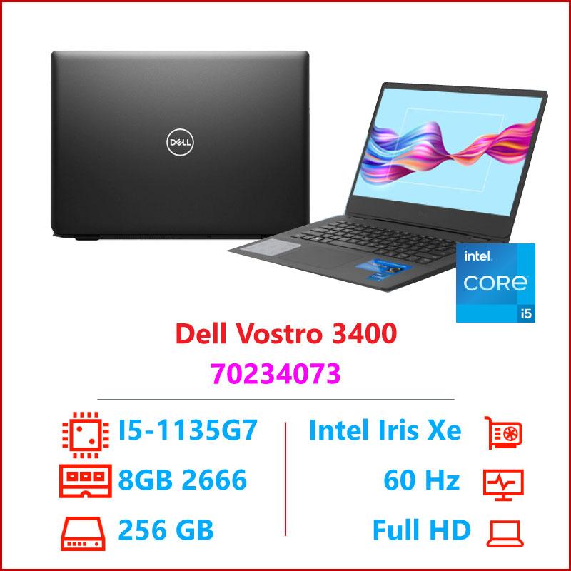 Laptop Dell Vostro 3500 V5I3001W Black i3 115G48GB RAMSSD256GB 2 1