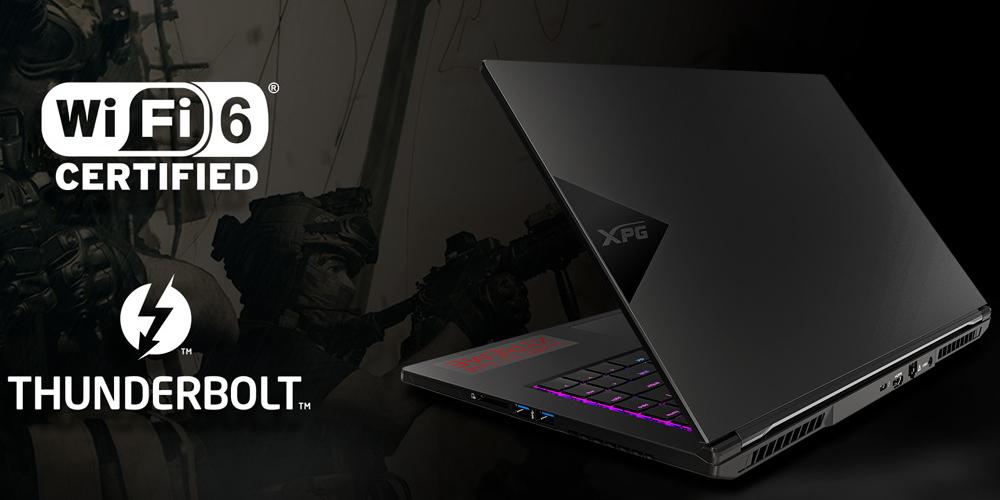 laptop gaming notebook adata xpg xenia 6