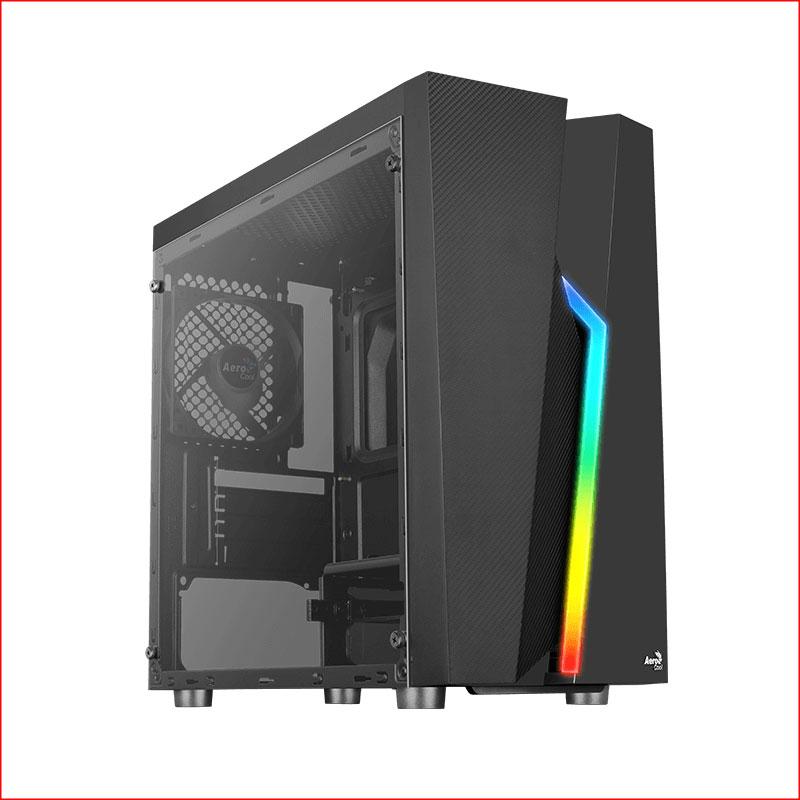 Case May Tinh AeroCool Bolt Mini Acrylic Led RGB 1