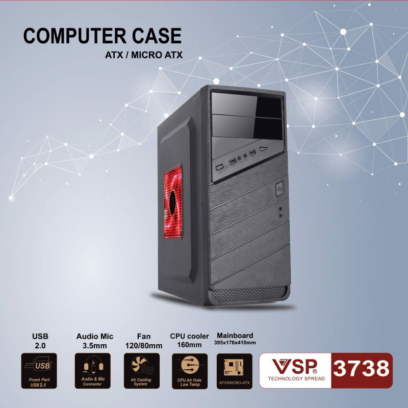 Case Thung may Vision VSP 3739A 3738A Khong Kem San Fan