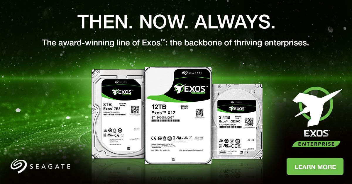 Dong O Cung HDD Seagate EXOS danh cho khach hang Enterprise