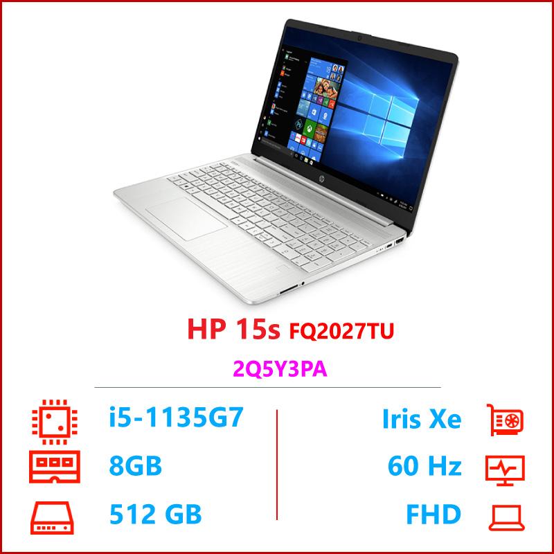 Laptop HP 15s FQ2027TU