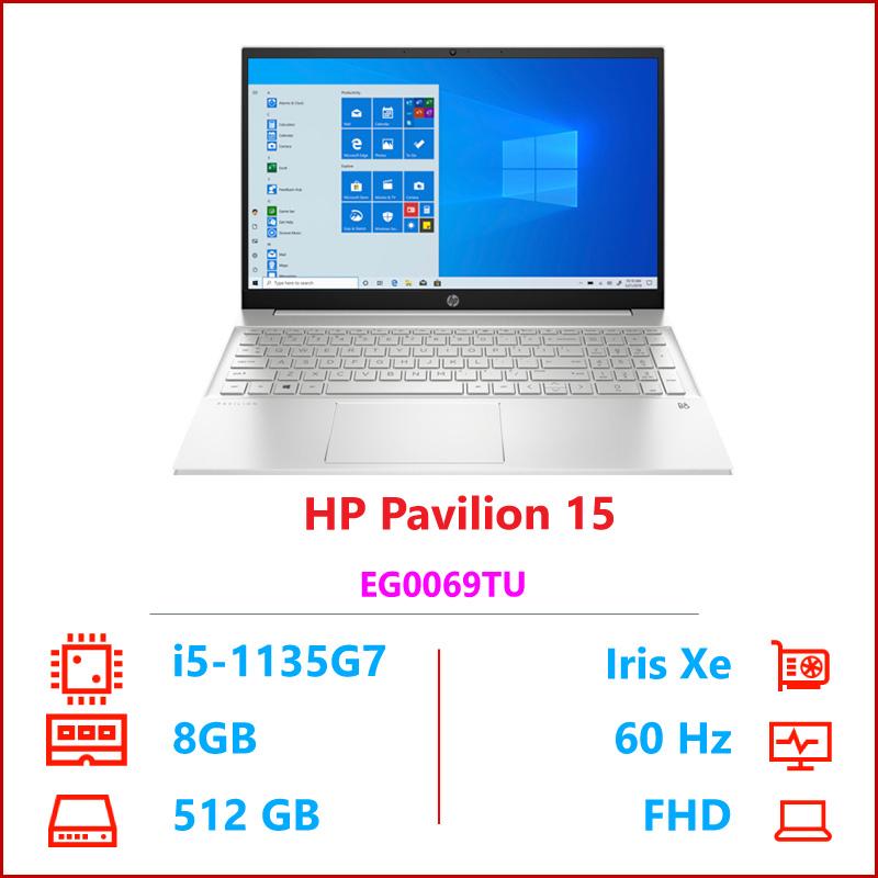 Laptop hp pavilion 15 eg0069TU