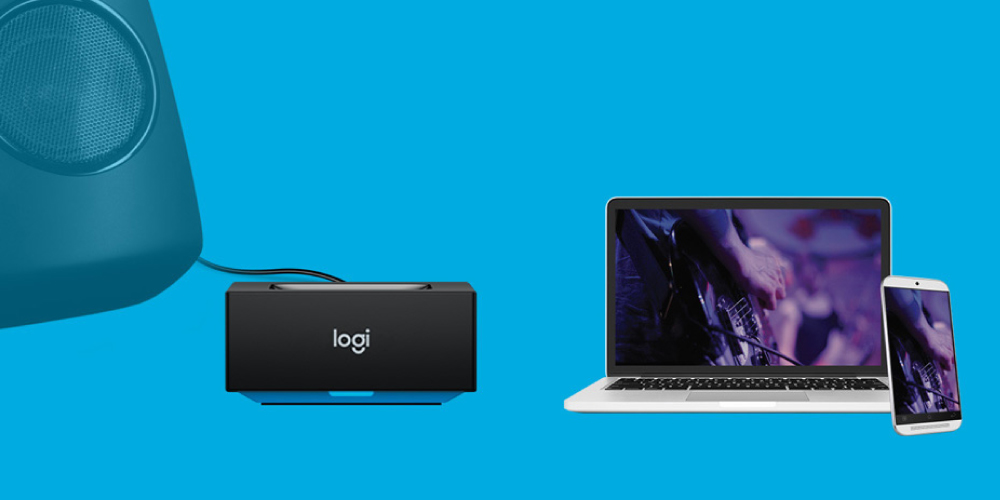 Logitech Bluetooth Audio Receiver 5