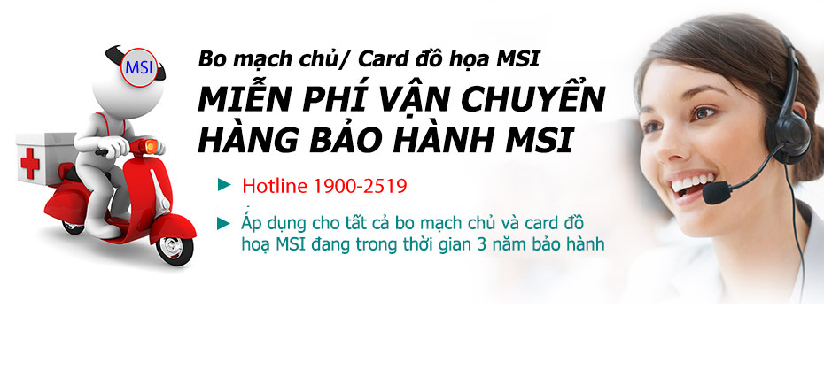 MSI Trung Tam Bao Hanh MSI Tren Toan Quoc