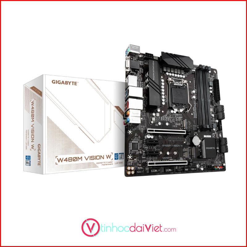 Mainboard Gigabyte W480M Vision W W480Socket 1200mATX 4