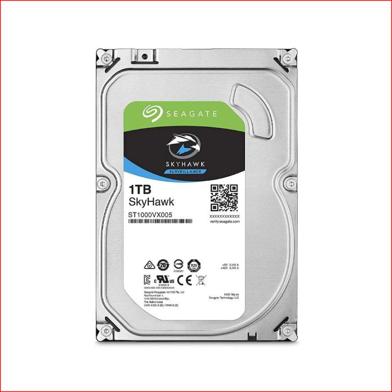 O Cung HDD Seagate SkyHawk 1TB 3.5 Inch Sata 3 ST1000VX005