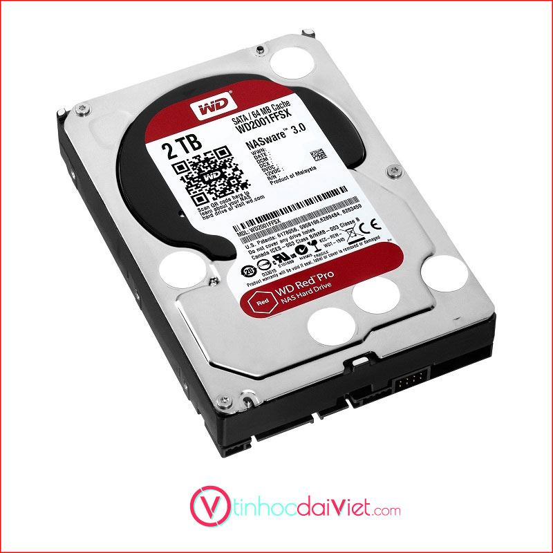 O Cung WD Red 1TB WD20EFAX Sata III64MB5400RPM 1