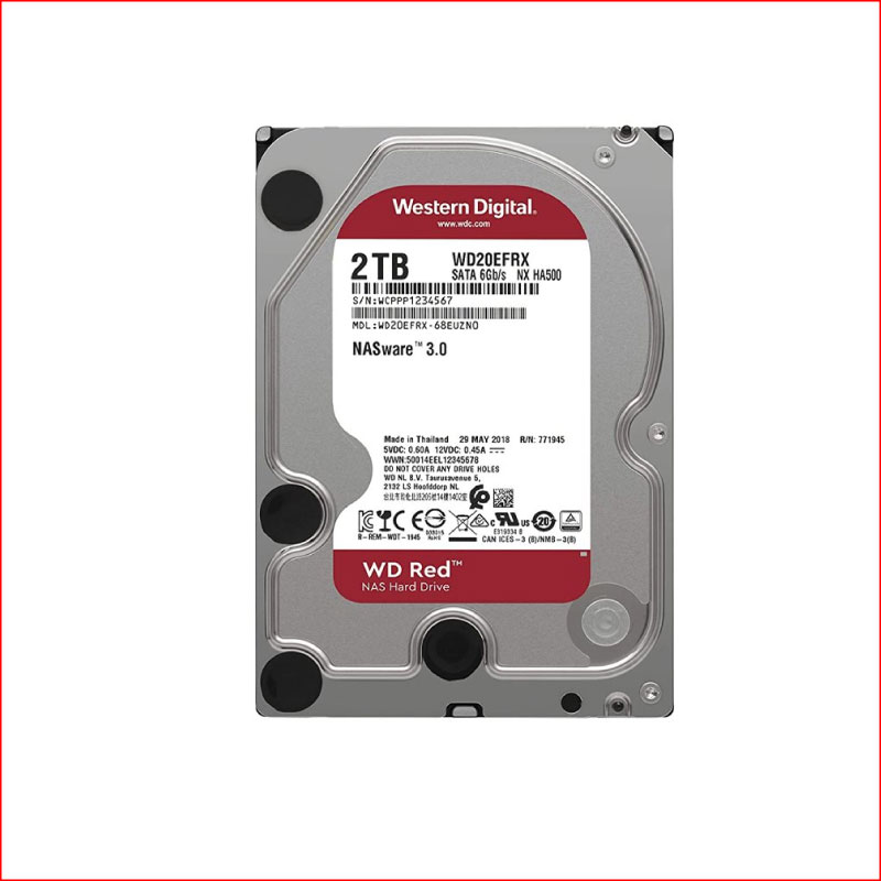 O Cung WD Red 1TB WD20EFAX Sata III64MB5400RPM