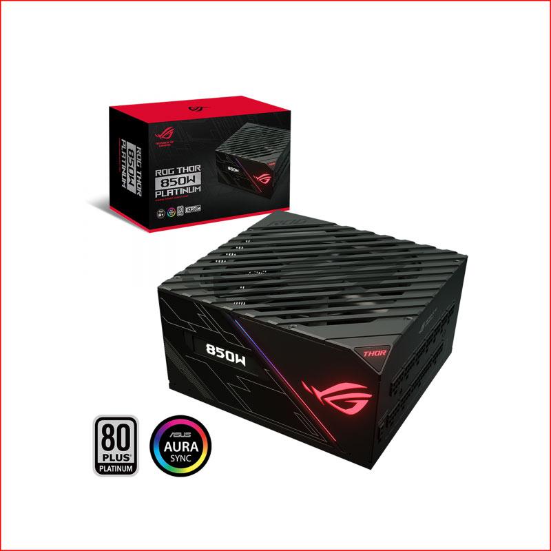 PSU Nguon May Tinh Asus Rog Thor 850P 850W Platium RGB